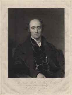 John Wilson Croker, by Samuel Cousins, published by and after  Sir Thomas Lawrence - NPG D34239