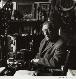 André Breton, by Ida Kar, 1960 - NPG  - © National Portrait Gallery, London