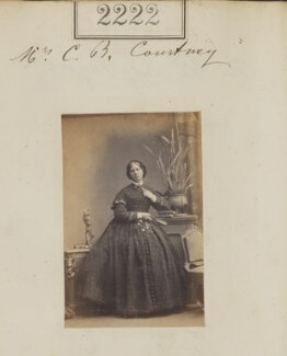 Eliza Courtney, by Camille Silvy - NPG Ax51610
