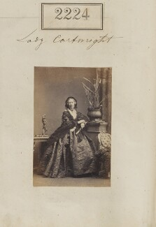 Maria Elizabeth Augusta ('Lili'), Lady Cartwright, by Camille Silvy - NPG Ax51612