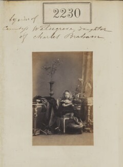Constance (née Braham), Lady Strachie, by Camille Silvy - NPG Ax51618