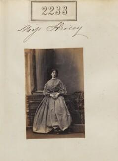 Frances Julia Graver-Browne (née Stracey), by Camille Silvy - NPG Ax51621