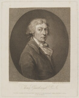 Thomas Gainsborough, by Francesco Bartolozzi, published by  John Boydell, published by  Josiah Boydell, after  Thomas Gainsborough - NPG D34265