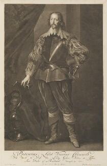 John Chaworth, 2nd Viscount Chaworth, by Pieter Stevens van Gunst, possibly after  Sir Anthony van Dyck - NPG D34290