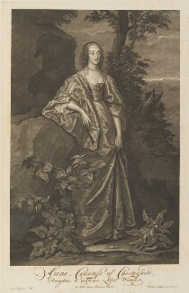 Katherine Stanhope (née Wotton), Countess of Chesterfield, by Pieter Stevens van Gunst, after  Sir Anthony van Dyck - NPG D34294