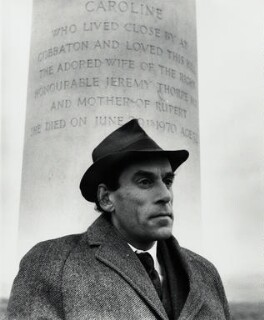 Jeremy Thorpe, by Daniel Farson, 1980s - NPG  - © estate of Daniel Farson / National Portrait Gallery, London