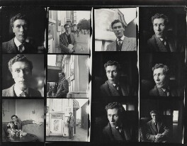 John Osborne, by Daniel Farson, July 1956 - NPG x22192 - © estate of Daniel Farson / National Portrait Gallery, London