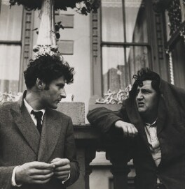 Lucian Freud; Brendan Behan, by Daniel Farson - NPG x22187