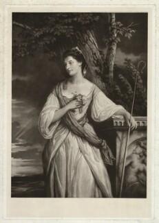Anne Stewart (née Dashwood), Countess of Galloway, by Henry Macbeth-Raeburn, after  Sir Joshua Reynolds - NPG D34268