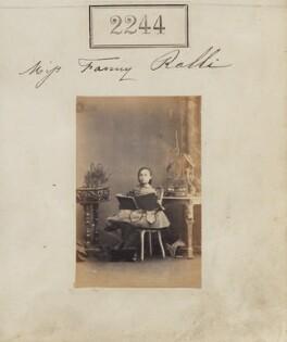 Fanny Schilizzi (née Ralli), by Camille Silvy - NPG Ax51632