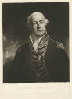 James Gambier, 1st Baron Gambier, by and published by George Clint, after  Sir William Beechey - NPG D34275