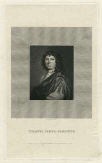 Colonel James Gardiner, by J.T. Wedgwood, published by  William Johnstone White - NPG D34276