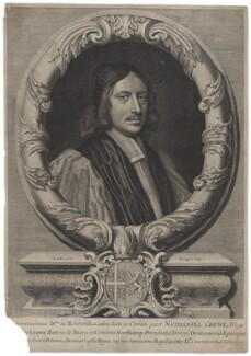 Nathaniel Crew, 3rd Baron Crew, by David Loggan, after  Sir Godfrey Kneller, Bt - NPG D34244