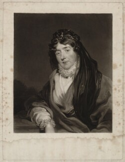 Frances Anne Crewe (née Greville), Lady Crewe, by William Say, after  Sir Thomas Lawrence - NPG D34309