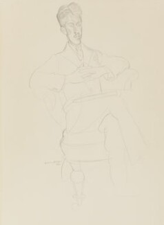 Sir Arthur Bliss, by Wyndham Lewis - NPG 6865