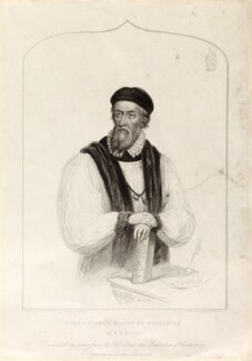 Hugh Latimer, by Henry Bryan Hall, published by  C. Birch, after  James Warren Childe - NPG D34329