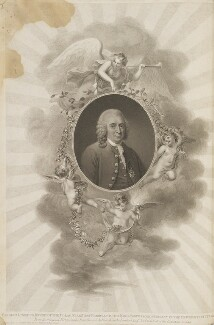 Carl Linnaeus, by Henry Meyer, and by  Francesco Bartolozzi, published by  Robert John Thornton, after  Magnus Hallman - NPG D34332
