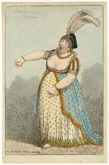 Elizabeth Billington (née Weichsel) ('Clara - A Bravura'), by Charles Williams, published by  Samuel William Fores - NPG D34316