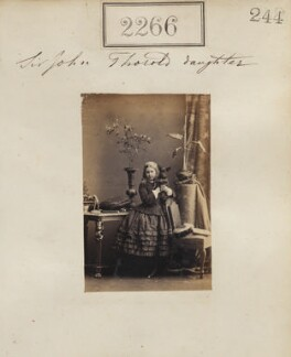 Edith Mary Thorold, by Camille Silvy - NPG Ax51654