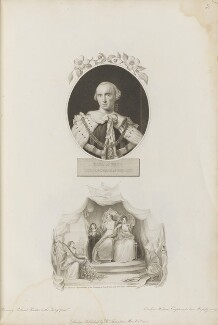 John Stuart, 3rd Earl of Bute, by Caroline Watson, published by  Robert John Thornton, after  Allan Ramsay, and after  Thomas Uwins - NPG D34333