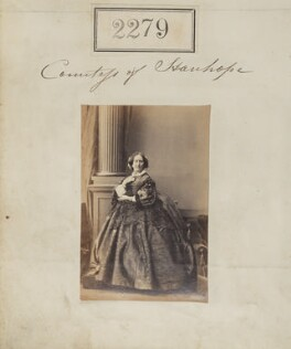 Emily Harriet Stanhope (née Kerrison), Countess Stanhope, by Camille Silvy - NPG Ax51667