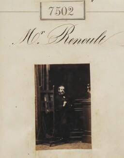 (Louis Dominique) Auguste Renoult, by Camille Silvy - NPG Ax53326