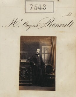 (Louis Dominique) Auguste Renoult, by Camille Silvy - NPG Ax53367