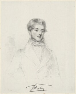 Alan Legge Gardner, 3rd Baron Gardner, by William Sharp, after  Joseph Slater - NPG D34279