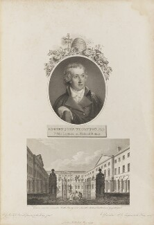 Robert John Thornton, by Francesco Bartolozzi, after  John Russell, and by  William Woolnoth, after  James Elmes - NPG D34351