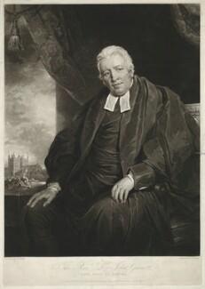 John Garnett, by and published by Charles Turner, after  John James Halls - NPG D34282