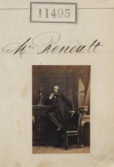 (Louis Dominique) Auguste Renoult, by Camille Silvy - NPG Ax61181
