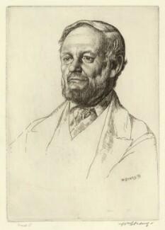 Richard Garnett, by William Strang - NPG D34283