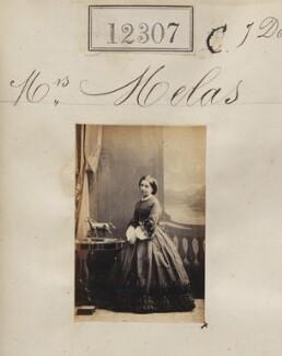 Terpsichore Melas, by Camille Silvy - NPG Ax61962