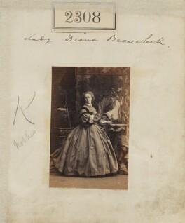 Diana de Vere (née Beauclerk), Lady Huddleston, by Camille Silvy - NPG Ax51696