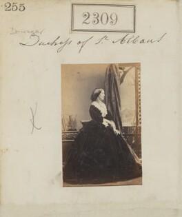 Elizabeth Catherine (née Gubbins), Viscountess Falkland, by Camille Silvy - NPG Ax51697
