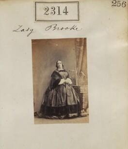 Julia Henrietta (née Anson), Lady Brooke, by Camille Silvy - NPG Ax51702