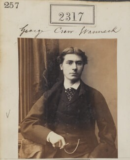 George Crewe Vanneck, by Camille Silvy - NPG Ax51705
