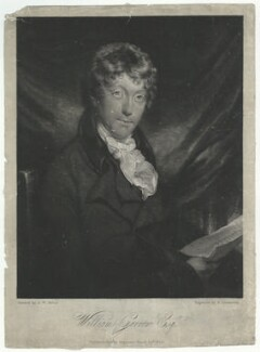 Sir William Garrow, by and published by Robert Dunkarton, after  Arthur William Devis, published 24 March 1810 (1802) - NPG D34367 - © National Portrait Gallery, London