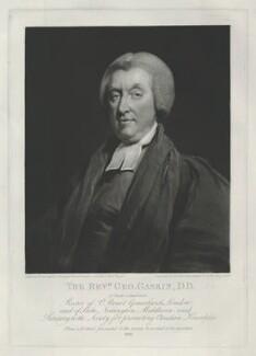 George Gaskin, by Samuel William Reynolds, after  William Owen - NPG D34371