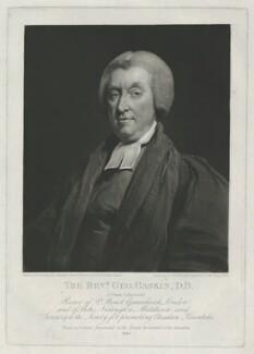 George Gaskin, by Samuel William Reynolds, after  William Owen - NPG D34372
