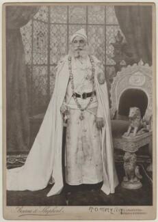Fateh Singh of Udaipur and Mewar, by Bourne & Shepherd - NPG x28802