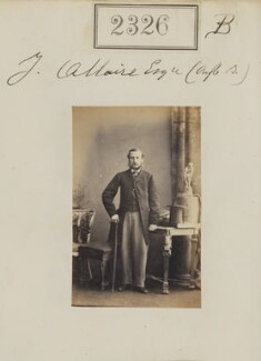 John Hillary Allaire, by Camille Silvy, 4 March 1861 - NPG Ax51714 - © National Portrait Gallery, London