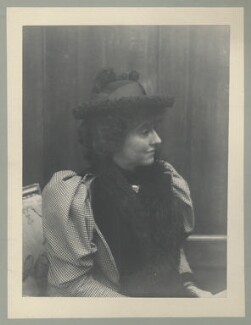 Eveleen Myers (née Tennant), probably by Cyril Flower, 1st Baron Battersea - NPG Ax68782