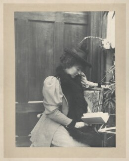 Eveleen Myers (née Tennant), probably by Cyril Flower, 1st Baron Battersea - NPG Ax68783