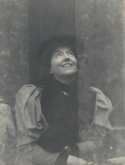 Eveleen Myers (née Tennant), possibly by Cyril Flower, 1st Baron Battersea - NPG Ax68785