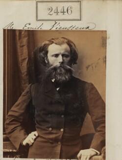 Emile Vieusseux, by Camille Silvy, 10 March 1861 - NPG Ax51835 - © National Portrait Gallery, London