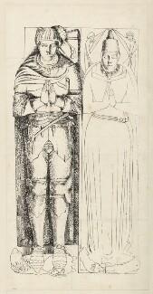 Sir John Crosby; Agnes Crosby, by Unknown artist - NPG D34401