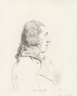John Crosdill, by William Daniell, after  George Dance - NPG D34404