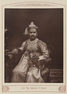 Sir Sayaji Rao III, Maharaja of Baroda, by Unknown photographer - NPG Ax28670