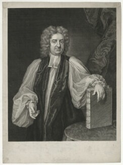 Francis Gastrell, by George Vertue, after  Michael Dahl - NPG D34389